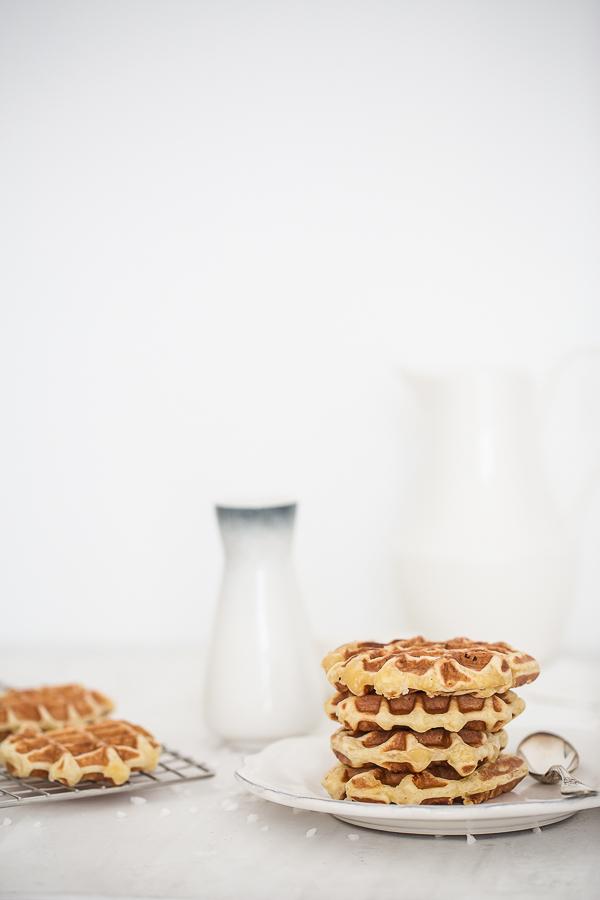 Gaufre de Liège - Recette - photographe Lyon - photographe Culinaire
