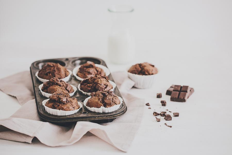 Ultra moelleux muffin au chocolat