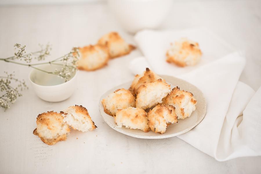 Rocher coco, Rocher noix de coco, photographie culinaire